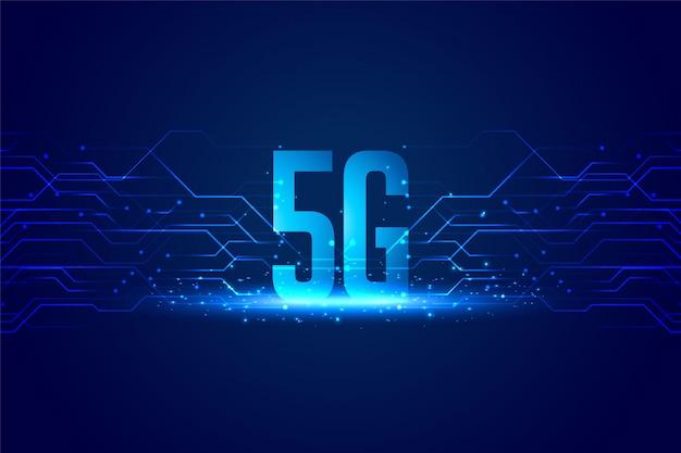 Fond de concept de technologie numérique pour une vitesse ultra-rapide