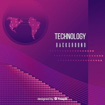 Fond de concept technologique