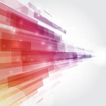 Fond de conception abstraite avec des lignes dynamiques
