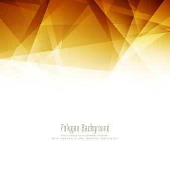 Fond de conception abstraite polygone lumineux