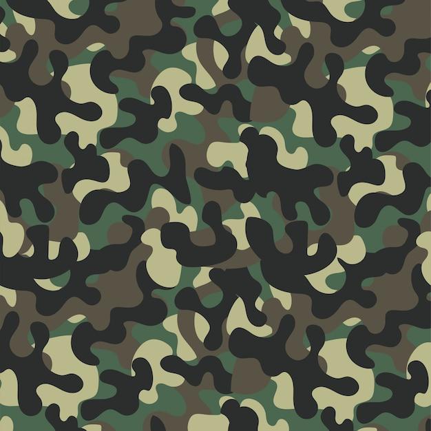 Fond de conception militaire uniforme de camouflage