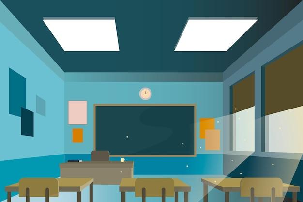 Fond de conférence de classe école vide