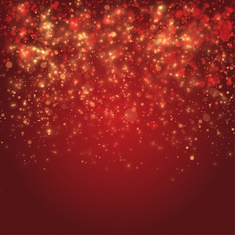 Fond de confettis de noël
