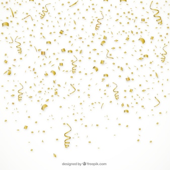 Fond de confettis d'or