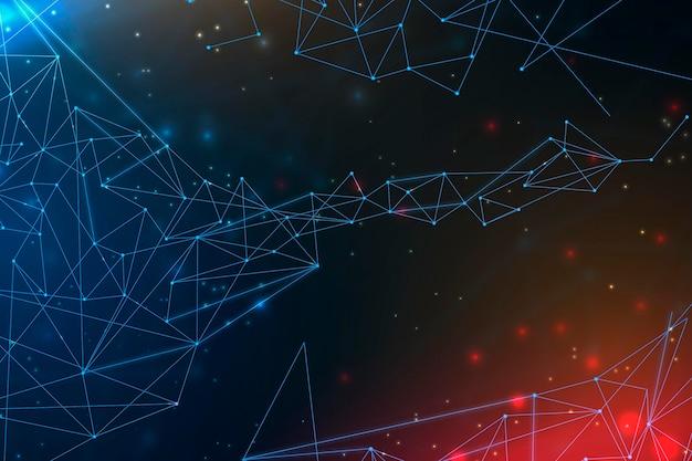 Fond de connexion réseau dégradé