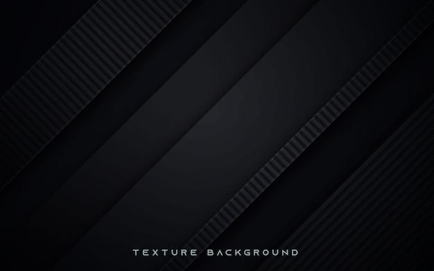 Fond de couche de chevauchement de texture noire