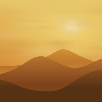 Fond de coucher de soleil