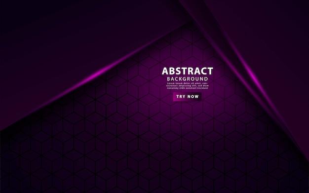 Fond de couches de luxe violet superposition