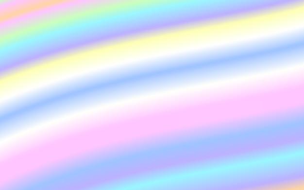 Fond de couleur arc-en-ciel pastel forme liquide vague