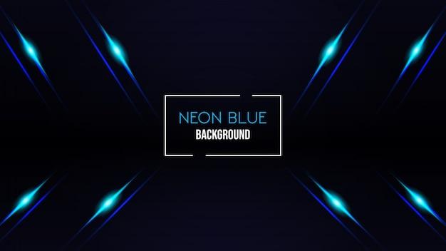 Fond de couleur bleu néon