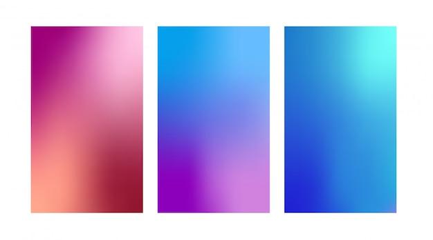 Fond de couleur dégradé, fond coloré.