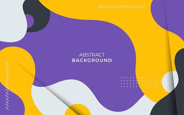 Fond de couleur liquide abstrait moderne. la conception d'éléments géométriques texturés dynamiques peut être utilisée sur des affiches, des bannières, des sites web, etc.