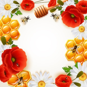 Fond de couleur miel