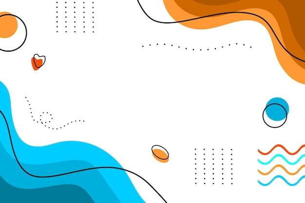 Fond de couleur minimaliste ligne abstraite