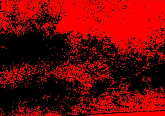 Fond de couleur rouge abstrait textures grunge