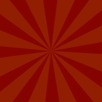 Fond de couleur rouge ou fond de rayons de soleil