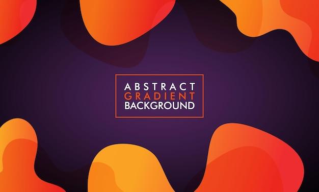 Fond de couleurs dégradé de forme abstraite minimale pour brochure, affiche, dépliant, couverture de livre