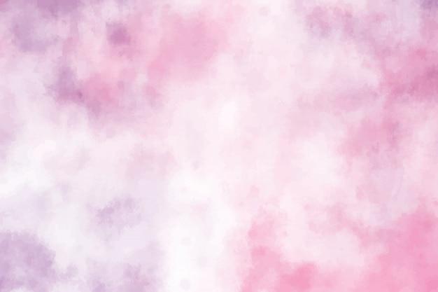 Fond de coup de pinceau grunge violet aquarelle rose