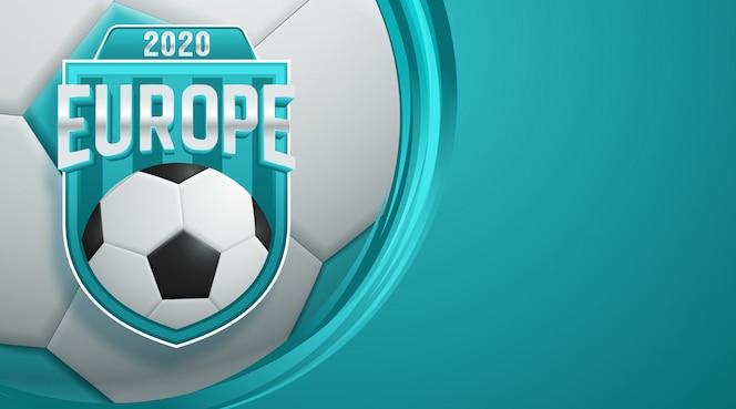 Fond de coupe du monde de football 2020