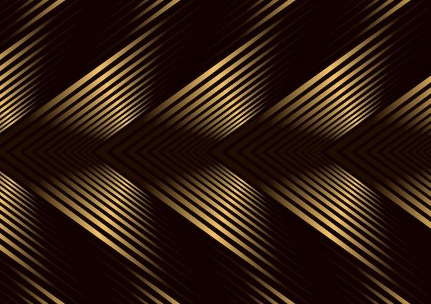 Fond de couverture géométrique de luxe pour affiche de couverture