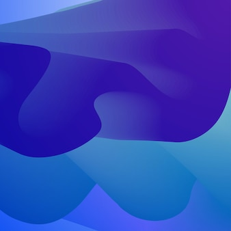 Fond de créativité de conception abstraite du cadre de vagues bleues avec un espace pour l'eau de mer de vague lisse de texte ...