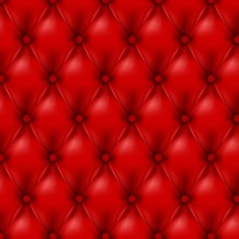 Fond de cuir de vecteur avec des boutons