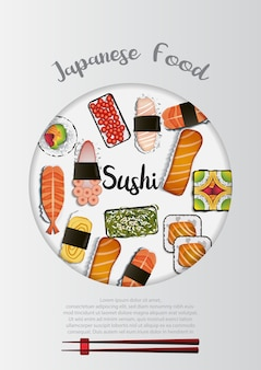 Fond de cuisine japonaise