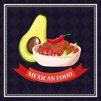 Fond de cuisine mexicaine