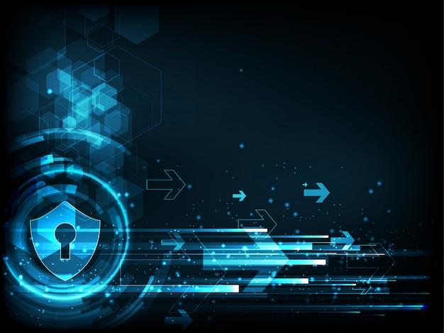 Fond de cyber-sécurité technologique