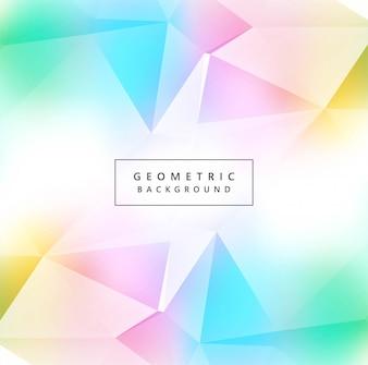 Fond de beau polygone coloré