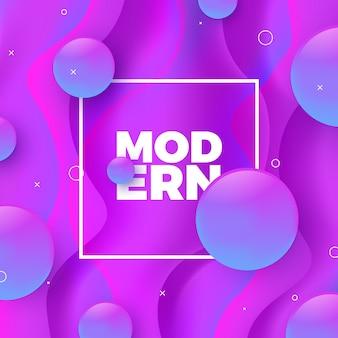 Fond de dégradé violet moderne