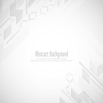 Fond de forme géométrique de couleur grise abstraite