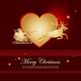 Fond de Noël joyeux chrismas desgin