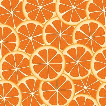 Fond de nombreuses tranches d'orange riches les uns des autres