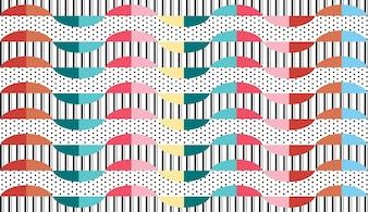 Fond de vecteur motif géométrique abstrait