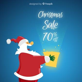 Fond de vente de Noël