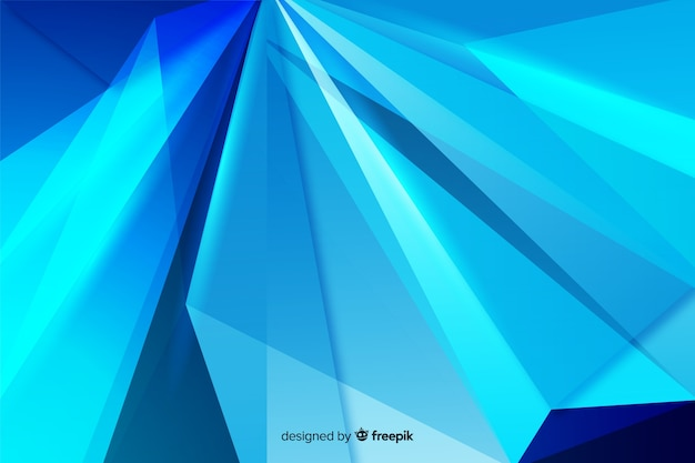 Fond décoratif abstrait bleu