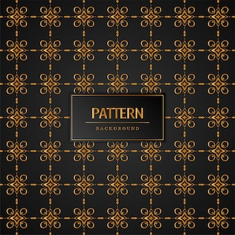 Fond décoratif abstrait motif doré