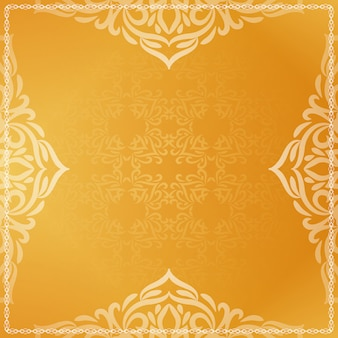 Fond décoratif jaune vif de beau luxe