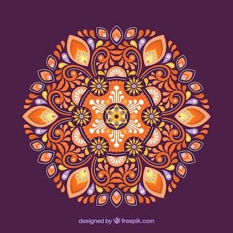 Fond décoratif mandala