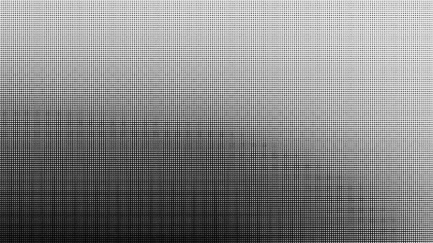 Fond dégradé abstrait demi-teinte dans les couleurs noir et blanc