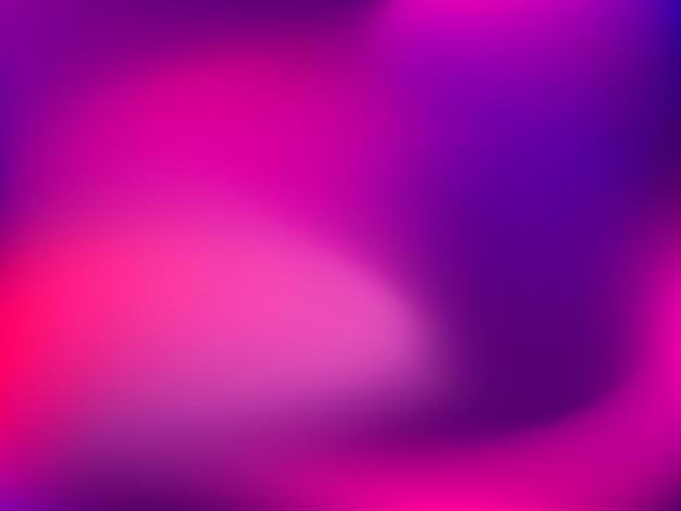Fond dégradé abstrait flou horizontal avec tendance rose pastel, violet