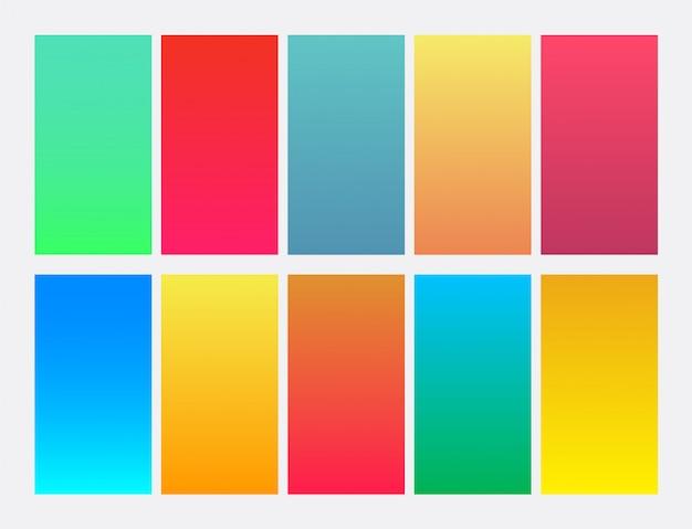 Fond dégradé coloré vibrant