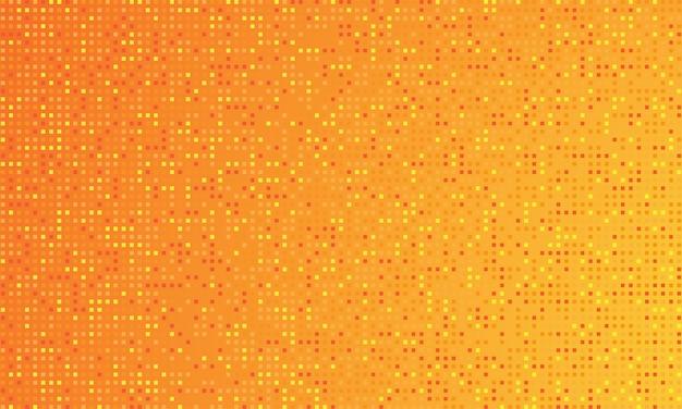 Fond dégradé de couleur orange et points ronds.