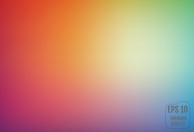 Fond dégradé flou dans des couleurs vives