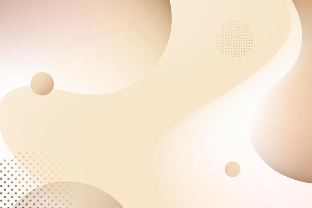 Fond dégradé fluide beige avec espace de copie