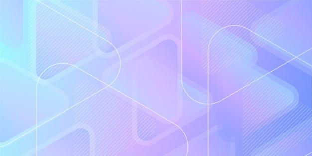 Fond dégradé géométrique abstrait