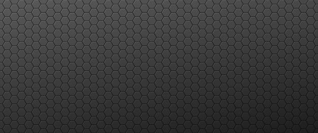 Fond dégradé hexagones convexes