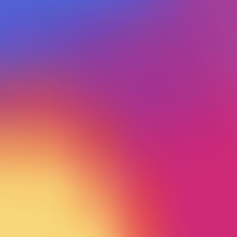 Fond dégradé lisse coloré