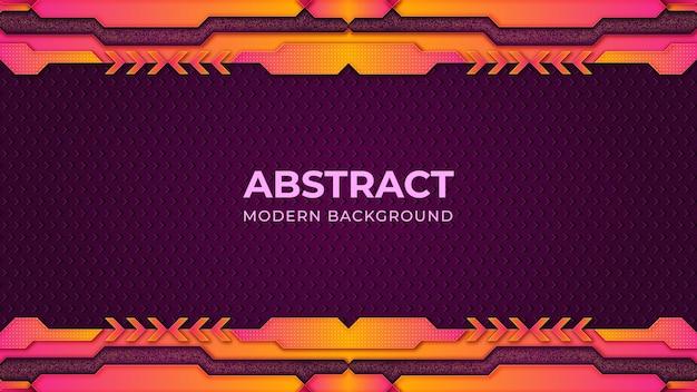 Fond dégradé violet minimaliste avec des formes abstraites fonds modernes
